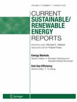 Current Sustainable/Renewable Energy Reports 1/2018