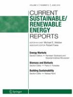Current Sustainable/Renewable Energy Reports 2/2018