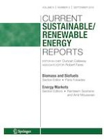 Current Sustainable/Renewable Energy Reports 3/2019