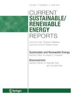 Current Sustainable/Renewable Energy Reports 2/2020