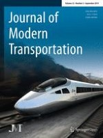 Journal of Modern Transportation 3/2014