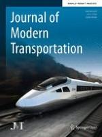 Journal of Modern Transportation 1/2015