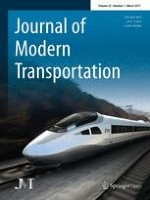 Journal of Modern Transportation 1/2017