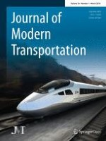 Journal of Modern Transportation 1/2018