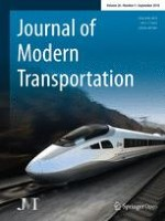 Journal of Modern Transportation 3/2018