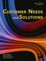 Customer Needs and Solutions 3/2014