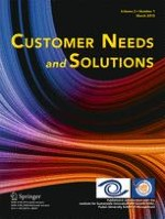 Customer Needs and Solutions 1/2015