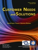 Customer Needs and Solutions 3/2015