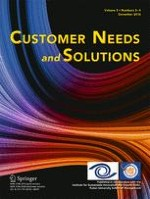 Customer Needs and Solutions 3-4/2016