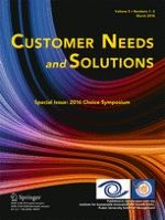 Customer Needs and Solutions 1-2/2018