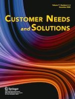 Customer Needs and Solutions 3-4/2020