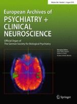 European Archives of Psychiatry and Clinical Neuroscience 5/2016
