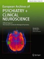 European Archives of Psychiatry and Clinical Neuroscience 7/2016