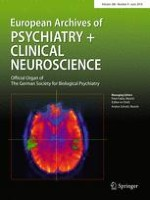 European Archives of Psychiatry and Clinical Neuroscience 4/2018