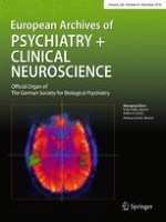 European Archives of Psychiatry and Clinical Neuroscience 8/2018