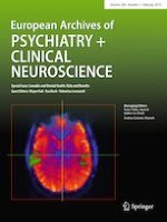 European Archives of Psychiatry and Clinical Neuroscience 1/2019