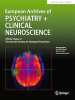 European Archives of Psychiatry and Clinical Neuroscience 3/2019