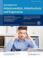 Zentralblatt für Arbeitsmedizin, Arbeitsschutz und Ergonomie 2/2015