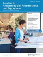 Zentralblatt für Arbeitsmedizin, Arbeitsschutz und Ergonomie 1/2019