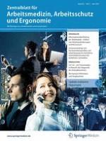 Zentralblatt für Arbeitsmedizin, Arbeitsschutz und Ergonomie 3/2019
