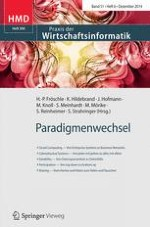 HMD Praxis der Wirtschaftsinformatik 6/2014