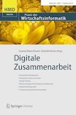 HMD Praxis der Wirtschaftsinformatik 1/2019