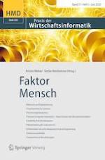 HMD Praxis der Wirtschaftsinformatik 3/2020