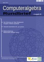 Computeralgebra-Rundbrief 1/2013