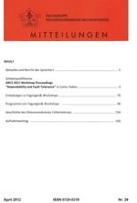 FERS-Mitteilungen 1/2012
