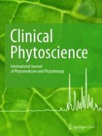 Clinical Phytoscience 1/2019