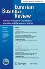 Eurasian Business Review 3/2018