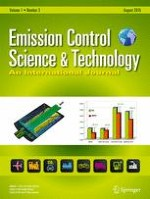 Emission Control Science and Technology 3/2015