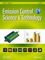 Emission Control Science and Technology 3/2016