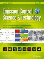 Emission Control Science and Technology 4/2017