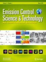 Emission Control Science and Technology 1/2018