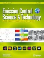 Emission Control Science and Technology 1/2019
