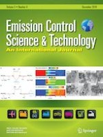 Emission Control Science and Technology 4/2019
