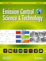 Emission Control Science and Technology 3/2020