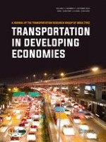 Transportation in Developing Economies 2/2016