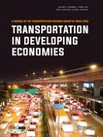 Transportation in Developing Economies 1/2019