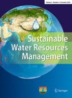 Sustainable Water Resources Management 4/2016