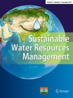 Sustainable Water Resources Management 4/2017