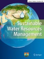 Sustainable Water Resources Management 4/2018