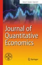 Journal of Quantitative Economics 1/2017
