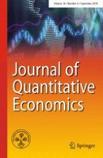 Journal of Quantitative Economics 3/2018