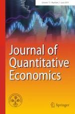 Journal of Quantitative Economics 2/2019