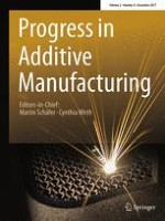 Progress in Additive Manufacturing 4/2017