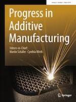 Progress in Additive Manufacturing 1/2019