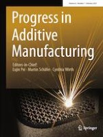 Progress in Additive Manufacturing 1/2021