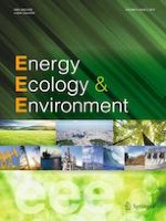 Energy, Ecology and Environment 2/2019